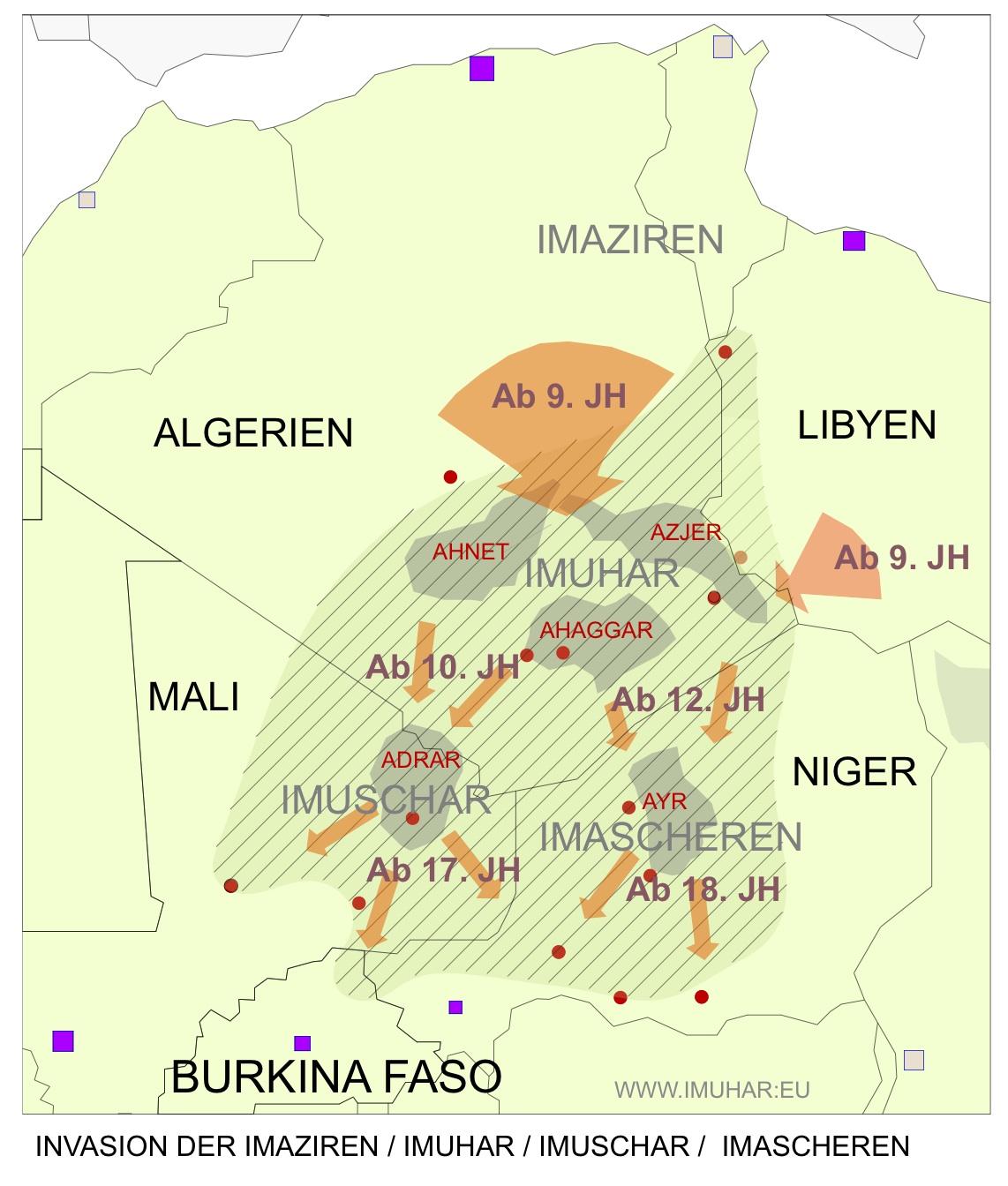 Anja Fischer / Imuhar (Tuareg) - History1